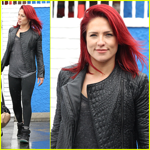Sharna Burgess Hypes Up Her Disney Week Dance with Antonio Brown