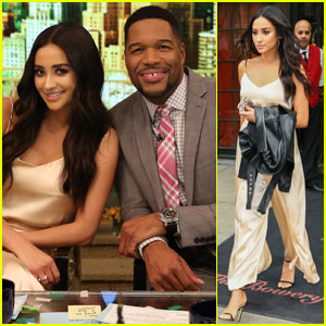 Shay Mitchell Fills in for Kelly Ripa on 'Live! With Kelly & Michael' (Video)