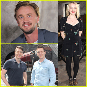 Tom Felton & Evanna Lynch Pick Out 'Harry Potter' Spin-Offs They Want To See
