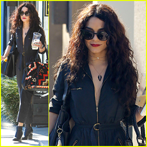 Vanessa Hudgens Goes Back To Long Hair As Spring Comes
