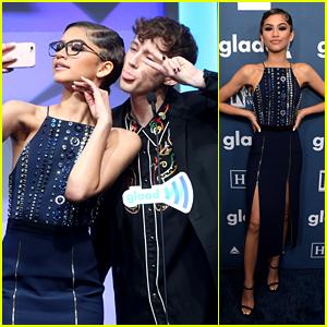 Zendaya & Troye Sivan Present Together at GLAAD Media Awards 2016