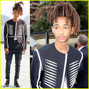 Jaden Smith Says He's the 'Son Of George Jefferson' at Louis Vuitton Event in Rio