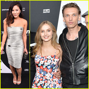 Jamie Campbell Bower & Ally Maki Hit Turner Upfronts 2016 in NYC