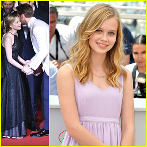 Angourie Rice Gets Kiss From Ryan Gosling At 'The Nice Guys' Cannes Premiere
