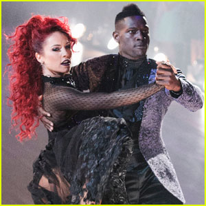 Sharna Burgess Handles 'DWTS' Wardrobe Malfunction Like a Pro