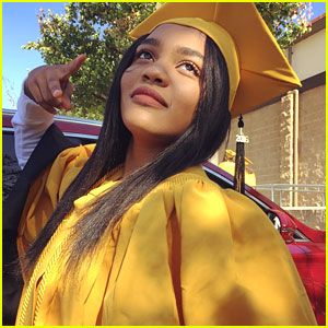 China Anne McClain Graduates High School in Los Angeles!