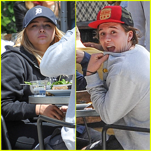 Brooklyn Beckham Jokes About Photo With Chloe Moretz