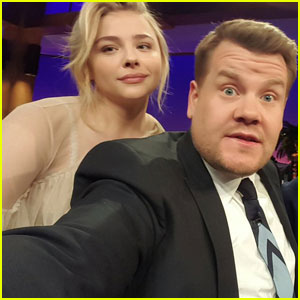 Chloe Moretz Calls Brooklyn Beckham Her 'Boyfriend' on 'The Late Late Show' (Video)