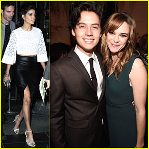 Cole Sprouse Celebrates CW's Upfronts with Danielle Panabaker & 'Riverdale' Cast