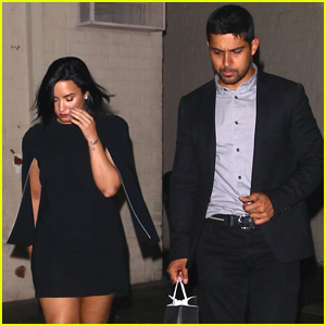 Demi Lovato & Wilmer Valderrama Have a Night Out After 'Jimmy Kimmel' Taping