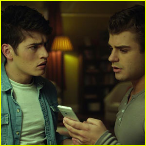 Garrett Clayton Dishes on New Movie 'Don't Hang Up' with Gregg Sulkin (Exclusive Clip)