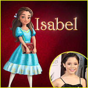 Jenna Ortega Reveals First Look at Isabel From 'Elena of Avalor'