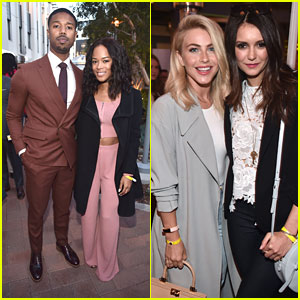 Serayah, Julianne Hough & Nina Dobrev Step Out For City Year LA's Spring Break Event