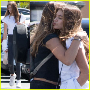 Kaia Gerber Goes to the Movie Theater With Friends