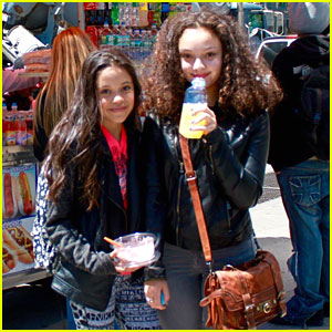 Kayla Maisonet Hangs With 'Stuck In The Middle' Sister Jenna Ortega in NYC
