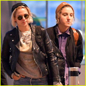 Kristen Stewart Leaves Cannes With Alicia Cargile