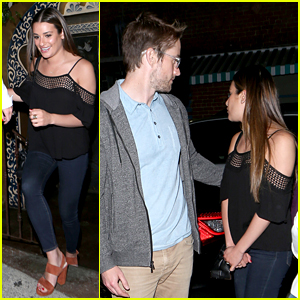Lea Michele & Robert Buckley Spotted Out on Date Night