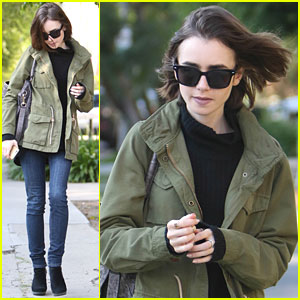 Lily Collins Narrates 'Peter Pan' Audio Book