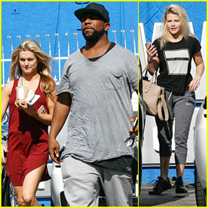 Lindsay Arnold & Wanya Morris Recruit Witney Carson for DWTS Trio Dance