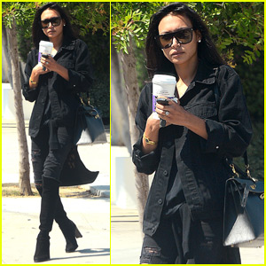 Naya Rivera Gets a New 'Do at the Salon