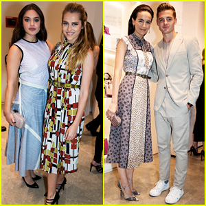 Odeya Rush, Teresa Palmer, & Camilla Belle Celebrate with Bottega Veneta