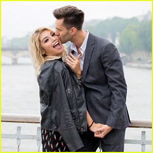 Kirstin Maldonado Posts Romantic Engagement Photos from Paris!
