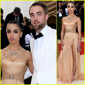 Robert Pattinson & FKA twigs Prove They're Going Strong at Met Gala 2016!