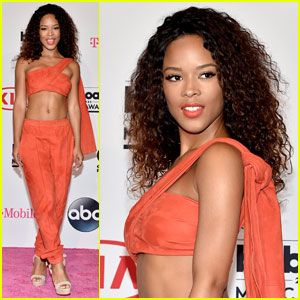 Serayah Switches Up Her Outfit at Billboard Music Awards 2016