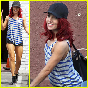 Sharna Burgess Addresses Her Three Wardrobe Malfunctions She Had on DWTS