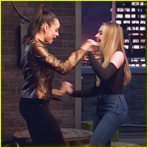 Sofia Carson & Sabrina Carpenter Go Behind-The-Scenes With 'Adventures in Babysitting'