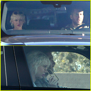 Taylor Swift Takes Car for Spin With Calvin Harris