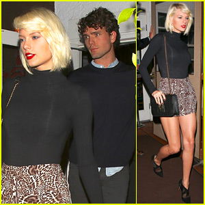 Taylor Swift Dines Out with Brother Austin