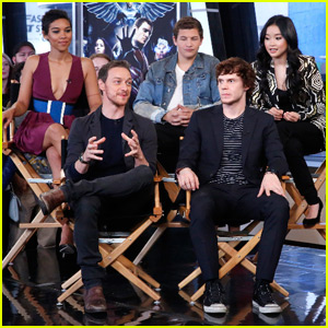 An 'X-Men: Apocalypse' Star Found Out She Was Cast During History Class!