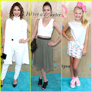 Allison Holker & Ashley Wagner Step Out For Super Saturday Event in Santa Monica