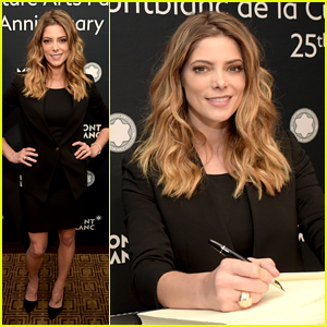 Ashley Greene Joins Montblanc for Patronage Award Event