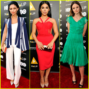 Bianca Santos & Chrissie Fit Go Glam for NALIP Latino Media Awards 2016