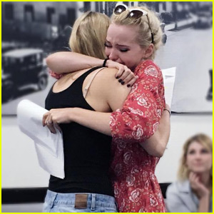 Dove Cameron Breaks Down During Final 'Liv & Maddie' Table Read