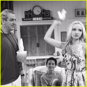 Dove Cameron Keeps Tissues Handy During Last Taping of 'Liv & Maddie'