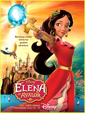 Disney Channel Sets 'Elena of Avalor' Premiere in July