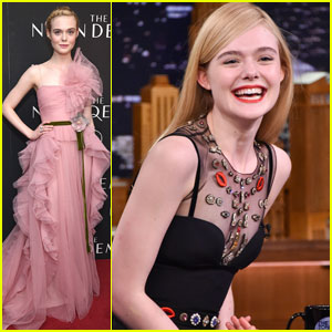 Elle Fanning is Really Good at Catchphrase!