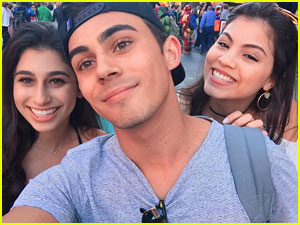 Paola Andino, Tyler Alvarez & Zoey Burger Have 'Every Witch Way' Reunion