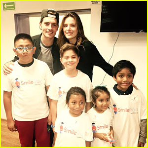 Bella Thorne & Gregg Sulkin Spend Time With Kids During Smile Train Visit in Mexico