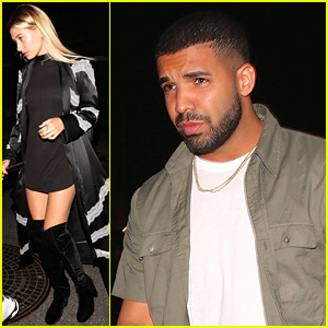 Hailey Baldwin Seen on Dinner Date with Drake!