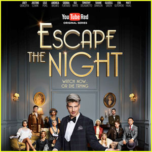 Joey Graceffa Stars in New 'Escape the Night' YouTube Series - Exclusive Clip!