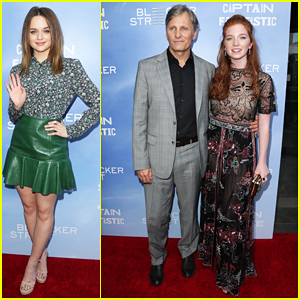 Joey King Supports BFF Annalise Basso At 'Captain Fantastic' Premiere!