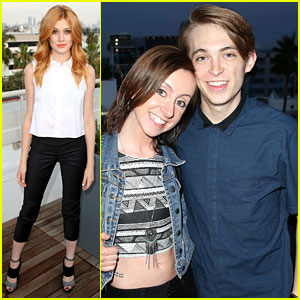 Katherine McNamara Hangs Out with Dylan Riley Snyder at JJJ's MXYZ Celebration!