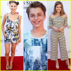 Kira Kosarin Attends Charity Concert Before Getting Back to Work on 'The Thundermans'!