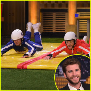 Liam Hemsworth Plays Slip & Flip on 'Fallon Tonight' - Watch Now!
