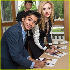 Neel Sethi & Peyton List Host Children's Acting Workshop at Greenwich Film Festival