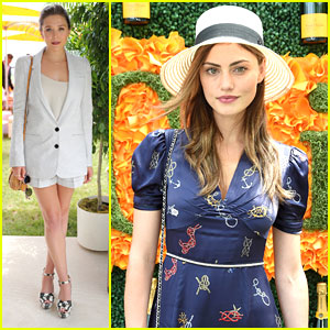 Phoebe Tonkin Enjoys A Day Out For The Veuve Clicquot Polo Classic